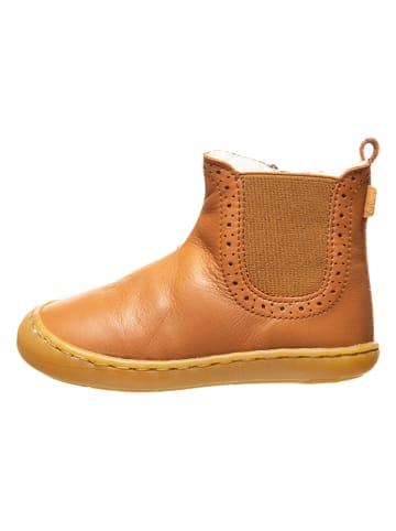 BO-BELL Leren boots lichtbruin