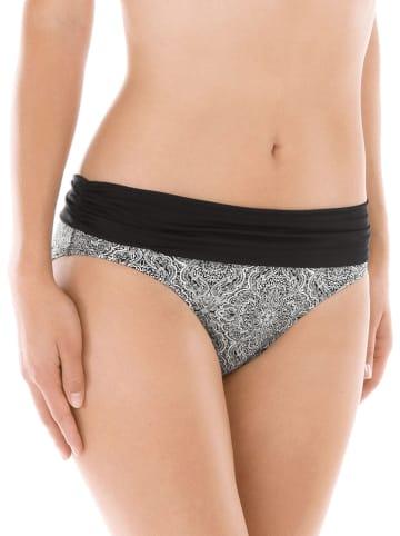 Calida Bikini-Hose in Schwarz/ Weiß