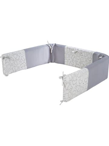"""Roba Nestchen """"Air Plus safe asleep"""" in Grau/ Creme - (L)140 x (B)16 x (H)4 cm"""