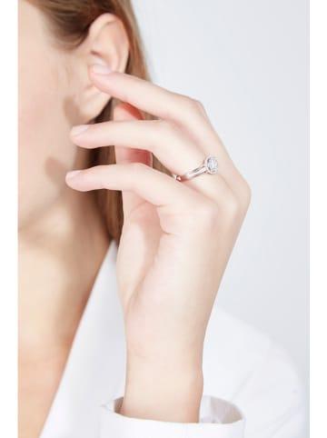 """DIAMOND & CO Złoty pierścionek """"Grennelle"""" z diamentami"""