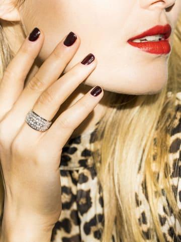 "DIAMOND & CO Witgouden ring ""Flower Explosion"" met diamanten"