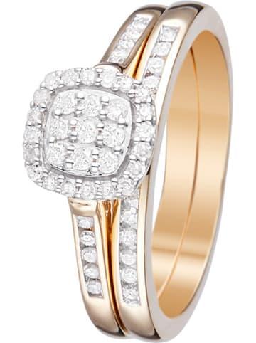 "DIAMOND & CO Gold-Ring ""Mon Vu Le Plus Cher"" mit Diamanten"