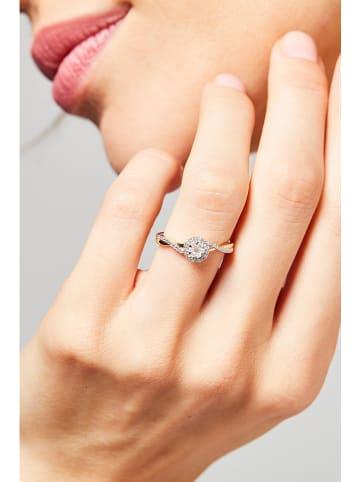 """DIAMOND & CO Złoty pierścionek """"Mon Idéal"""" z diamentami"""