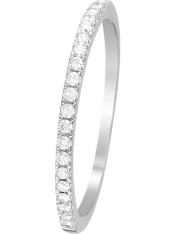 "DIAMOND & CO Witgouden ring ""Alliance Délice"" met diamanten"