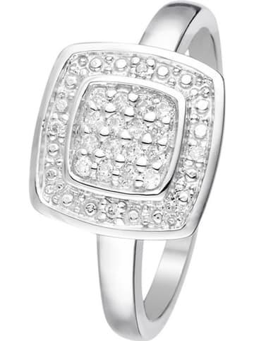 "DIAMOND & CO Witgouden ring ""Lima"" met diamanten"
