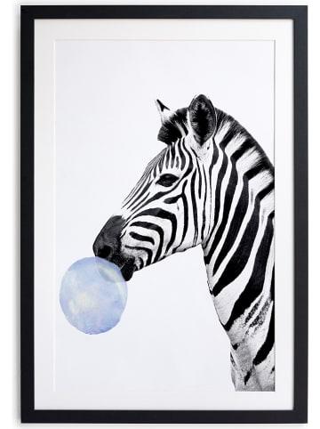 """Little nice things Druk artystyczny """"Zebra"""" - 30 x 40 cm"""