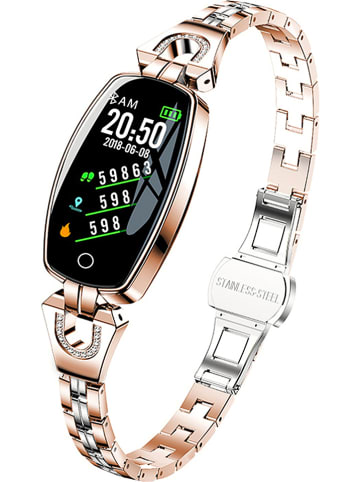 WHIPEARL Smartwatch w kolorze złotym