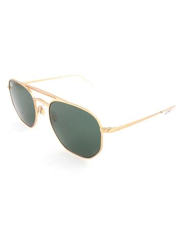 Ray Ban Damen-Sonnenbrille in Gold/ Grün