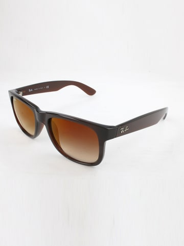 Ray Ban Herren-Sonnenbrille in Dunkelbraun