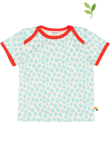 Loud + proud Shirt wit/turquoise