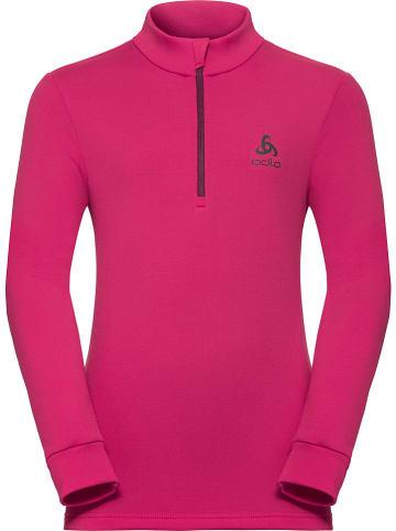 """Odlo Koszulka funkcyjna """"Carve"""" w kolorze różowym"""
