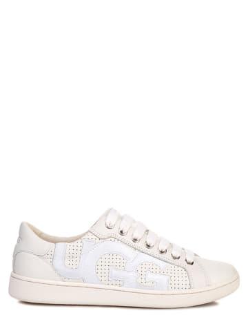 """UGG Leren sneakers """"Milo Graphic"""" wit"""