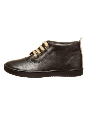 Billowy Leren sneakers zwart