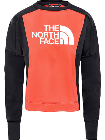 "The North Face Sweatshirt ""Train"" rood"