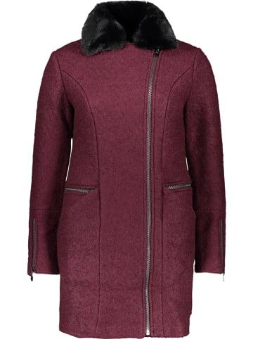 Le Temps des Cerises Płaszcz w kolorze bordowym