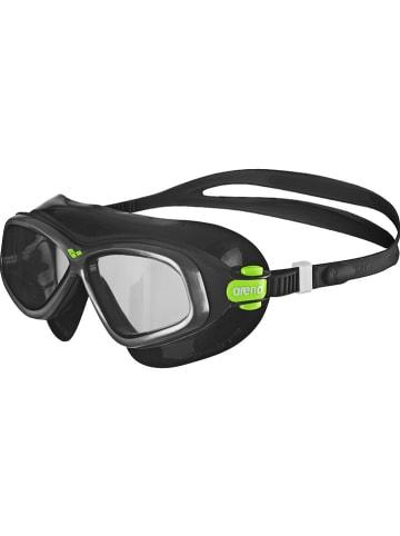 """Arena Okulary """"Orbit 2"""" w kolorze czarnym do pływania"""