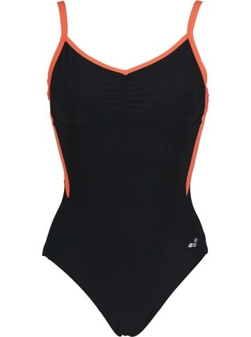 """Arena Modelujący strój kąpielowy """"Carla"""" w kolorze czarnym"""