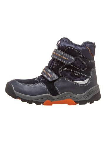 "Lurchi Winterboots ""Teko-Tex"" in Dunkelblau/ Orange"