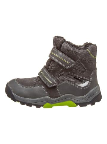 """Lurchi Boots """"Teko-Tex"""" in Anthrazit/ Grün"""