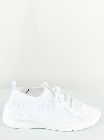 Sixth Sens Sneakers wit