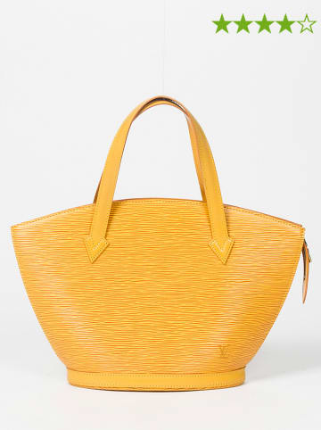 "Louis Vuitton Leder-Henkeltasche ""St-Jacques"" in Gelb - (B)38 x (H)24 x (T)10 cm"