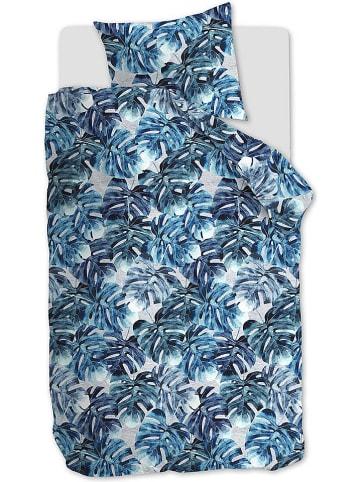 Beddinghouse Komplet pościeli dżersejowej w kolorze niebieskim