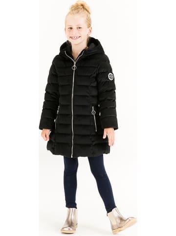 HULABALU Płaszcz zimowy w kolorze czarnym