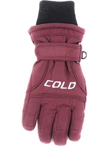 "COLD Handschoenen ""Force"" bordeaux"