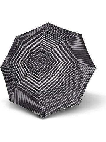 """Knirps Parasol """"Knirps T.200 Medium Duomatic"""" w kolorze czarno-białym"""