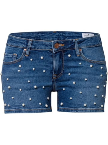 Cross Jeans Szorty w kolorze niebieskim
