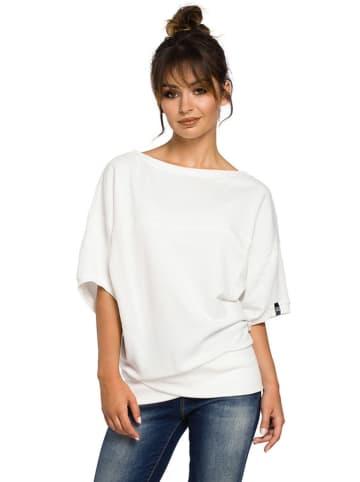 Be Wear Bluzka w kolorze kremowym