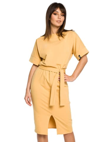 Be Wear Sukienka w kolorze żółtym