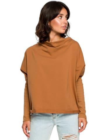 Be Wear Bluza w kolorze musztardowym