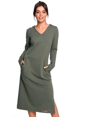 Be Wear Sukienka w kolorze khaki