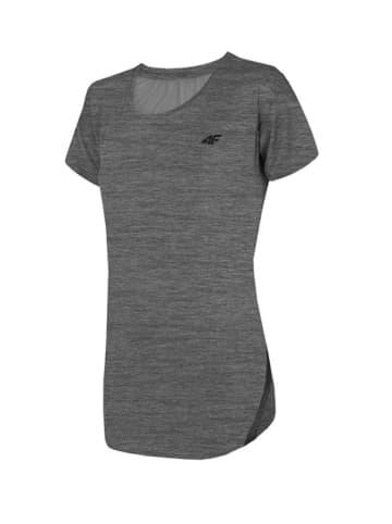 4F T-shirt funkcyjny w kolorze szarym