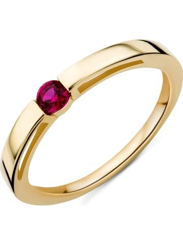 Revoni Złoty pierścionek z rubinem