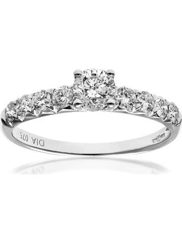 Diamant Exquis Złoty pierścionek z diamentami