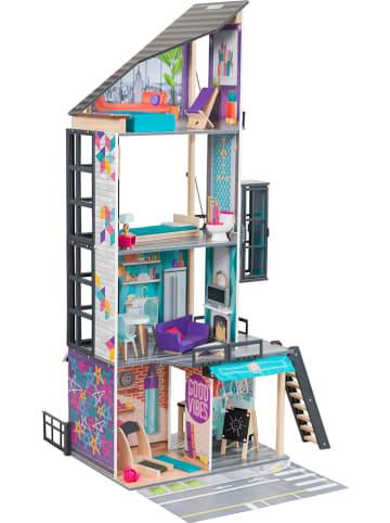 """KidKraft Puppenhaus """"Bianca City Life"""" mit Zubehör - ab 3 Jahren"""