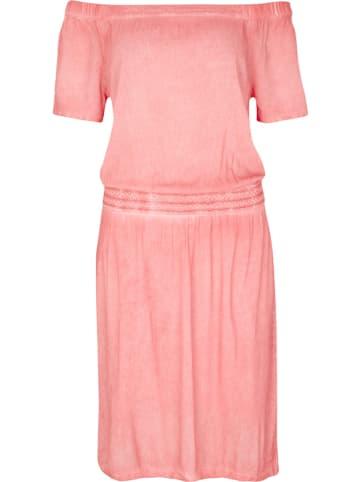 Comma Sukienka w kolorze koralowym