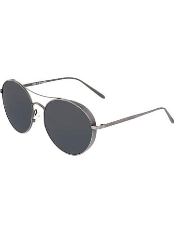 """Breed Męskie okulary przeciwsłoneczne """"Barlow"""" w kolorze czarno-srebrnym"""