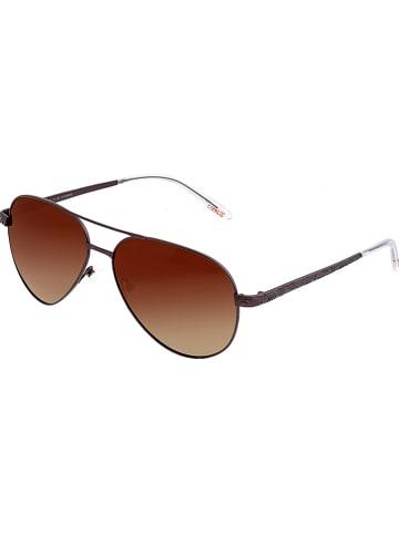 """Breed Damskie okulary przeciwsłoneczne """"Void"""" w kolorze brązowym"""