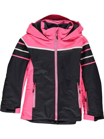 CMP Kurtka narciarska w kolorze różowo-czarnym