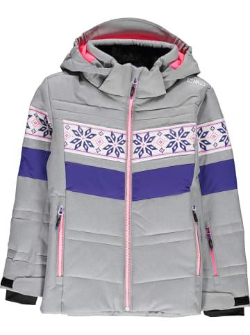CMP Ski-/ Snowboardjacke in Grau/ Pink