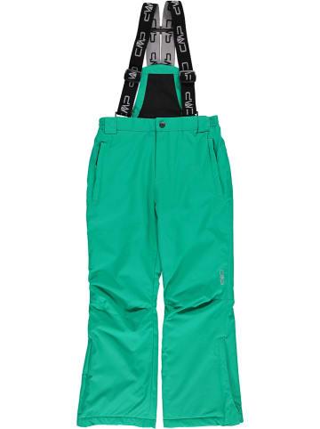 CMP Spodnie narciarskie w kolorze zielonym