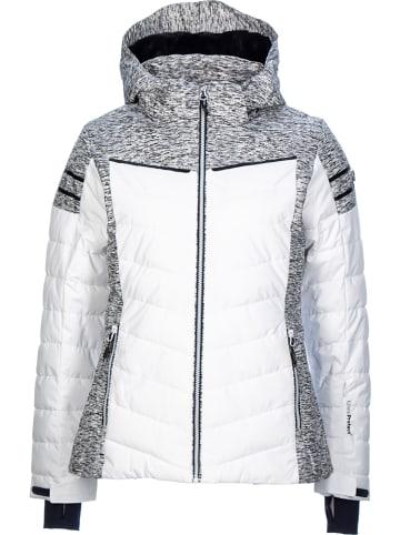 CMP Ski-/ Snowboardjacke in Weiß/ Grau