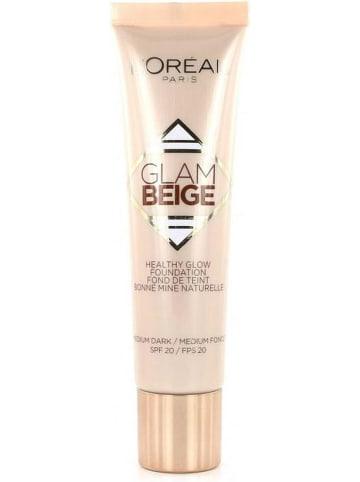 "L'Oréal Paris Foundation ""Glam Beige - 40 Medium Dark"" - SPF 15, 30 ml"