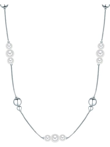 Perldesse Naszyjnik z elementami ozdobnymi i perłami - dł. 50 cm