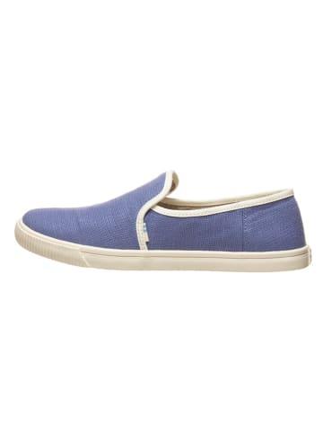 """TOMS Slippersy """"Clemente"""" w kolorze błękitnym"""
