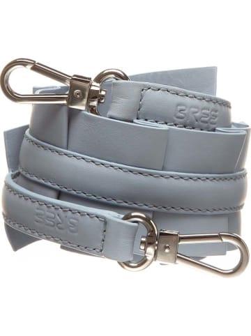 Bree Skórzany pasek w kolorze niebieskim na ramię - dł. 75 cm