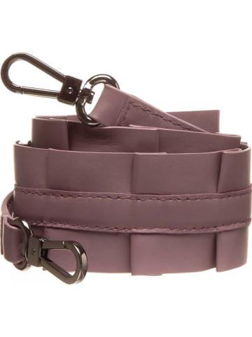 Bree Skórzany pasek w kolorze fioletowym na ramię - dł. 75 cm